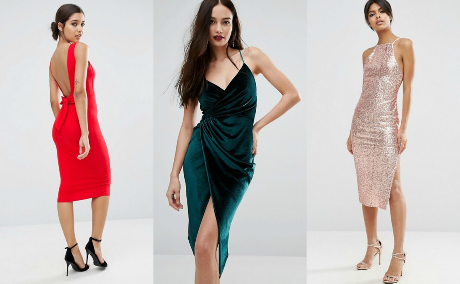 Christmas party dresses from ASOS