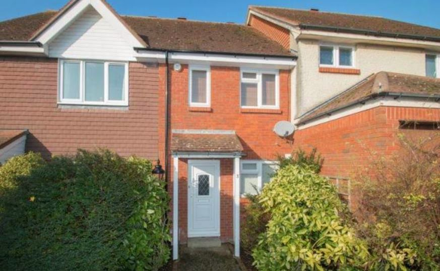 chichester buy to let house front