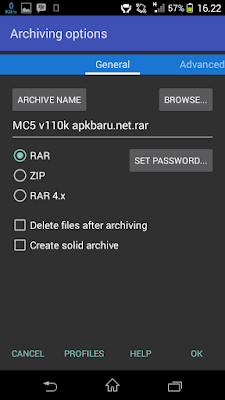 Download RAR for Android (Premium) v5.30 build 38 Apk Gratis