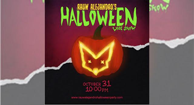 Rauw Alejandro presenta su show de streaming especial de Halloween