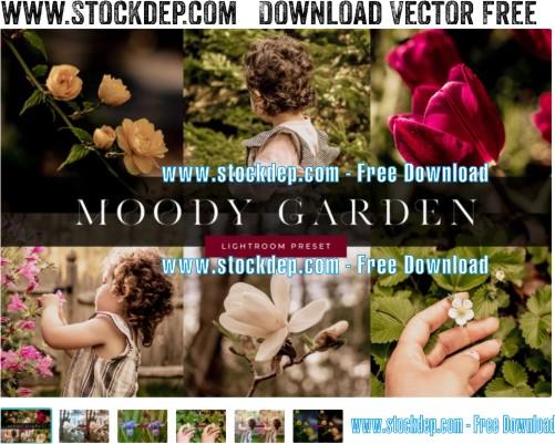 Moody Garden Lightroom Preset download free