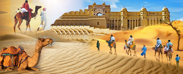 "aksharonline, akshar travel services, Rajasthan Tour, Special Rajashthan Tour Operator, Jaisalmer Hotel, Jaipur Hotel, Jaisalmer Tent Booking, Udaipur Resort, Udaipur Hotel Booking, sightseeing full package tour operator, Best of Rajasthan (8Nights/9Days)  Destination Covered: - Jaipur-Bikaner-Jaisalmer –Jodhpur - Udaipur.    Day 01: Jaipur: Arrival    Welcome to Jaipur pink city!!! On your arrival at Jaipur Airport you will be received by our representative and assisted till your room in your hotel In the evening enjoy dinner at an ethnic village resort where you will have an idea of the village life of Rajasthan here you will also enjoy various traditional Rajasthani dances, puppet show and various other interesting activities (Optional).  Overnight in your hotel.    Day 02: Jaipur: City tour    After breakfast, take a full day sightseeing tour of Jaipur city that includes the Jaigarh Fort, City Palace, Jantar Mantar observatory, Hawa Mahal (Palace of Winds), Birla temple and excursion to the old capital Amber. Here at Amber Fort, you'll ascend till the gates of majestic Amber fort on elephant back. The fort displays a beautiful mix of Mughal and Raj put styles of architecture. In the evening take a rickshaw tour of the colorful streets and bazaars of Jaipur City. The beauty of Jaipur is that its unique architecture and town planning is visible at even the most common places such as its squares and lanes. Overnight in your hotel.    Day 03: Jaipur: -Bikaner (5 Hrs)   After breakfast, check-out and drive to Bikaner on arrival Bikaner check in hotel. Later city tour of Bikaner the royal fortified city with timeless appeal. Lying in the north of the Thar Desert, the city is dotted with many sand dunes. Visiting well preserved Junagarh Fort built of Red sand stone give the impression of rich inlay of pietra dura and apartments are merely richly painted. Lalgarh Museum the architectural masterpiece in red sand stone its facade is almost entirely composed of the pierced stone screens called jails. Palace has beautiful lattice work and filigree work. Also visit Asia's biggest camel breeding farm to watch different breeds of Camels. Overnight at hotel.      Day 04: Bikaner- Jaisalmer   (6 hrs)   Jaisalmer (Famous Thar Desert Town of Rajasthan): On your arrival, transfer on camels to desert Place in a village outside Jaisalmer to spend your day in rustic desert atmosphere, Also visit Sam sand Dunes here you enjoy the Camel Ride and witness the Sun Set against the sand dunes and enjoy dance and some cultural activities under the tinkling stars. Overnight at hotel   Please Note: Camel Ride, Evening Tea/ Coffee with Snacks, Folk Dance (Cultural Programme) DJ, Rajasthani Dinner included at Desert sand dunes, Jaisalmer.    Day 05:  Jaisalmer City Tour.   After breakfast transfer for Jaisalmer, move out for exclusive sightseeing of one of the oldest forts of Rajasthan ""Golden Fort"", Gadisar Lake followed by a walking tour to admire the excellent stone carving work on Havelies in the town. Jaisalmer which Include fort of Jaisalmer, Gadisar Lake. Jain Temple, Patwon Ki Haveli. Overnight in Jaisalmer.    Day 06:  Jaisalmer- Jodhpur (5 hrs)   After breakfast, check-out and drive to Jodhpur. on arrival Jodhpur, check in hotel. Jodhpur, stronghold of the fierce Rathore clan, was founded in 1459 by Prince Jodha. Visit the Mehrangarh Fort, situated on a low sandstone hill. Within the fort, visit Moti Mahal and Phool Mahal. Also visit Jaswant Thada, an imposing marble cenotaph, built in memory of Maharaja Jaswant Singh II around 1899 and Umaid Bhawan. In Evening heritage walk. Overnight in Jodhpur.    Day 07: Jodhpur –Udaipur (5 hrs)   After breakfast, check-out and drive to Udaipur en-route visit Ranakpur Jain temple. on your arrival at Udaipur, check-in at your hotel. In the evening take a breathtaking boat tour over the picturesque Lake Pichola to admire the royal buildings around the Lake and enjoy the scenic sunset view. From the lake you have a wonderful view of the City Palace stretching along the east bank, while the south bank has pleasant gardens running down to the waterside. Overnight in your hotel.    Day 8: Udaipur Sightseeing:  Highlights: - City Palace, Jagdish temple, Shelion Ki Bari, Pratap Memorial.  after breakfast move out to a sightseeing tour of the city which includes visit to the City Palace (note the trees growing at the top floor of the palace, which is actually the summit of the hill the palace is covering), Visit the City Palace museum, the Jagdish temple, Sahelion Ki Bari (Queen's resort for their friends) Bhartiya Lok Kala Mandir (Folk art museum) and the Pratap Memorial. Overnight stay in Udaipur. ghatlodia, ahmedabad, sola, naranpura, satellite, sciencecity, kalol, navrangpura, naranpura, ranip, chandlodiya, nirnaynagar, bhuyangdev, bodakdev tour operator, tour agency, air ticket booking agent, hotel booking agent, tour agency, hotel agency, hotel, air ticket, cheap air ticket, air ticket booking in ahmedaba"