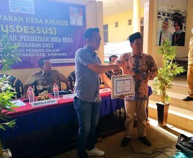 Gelar Musdessus, Desa Karang Penang Onjur rampungkan Pendataan SDG's Desa
