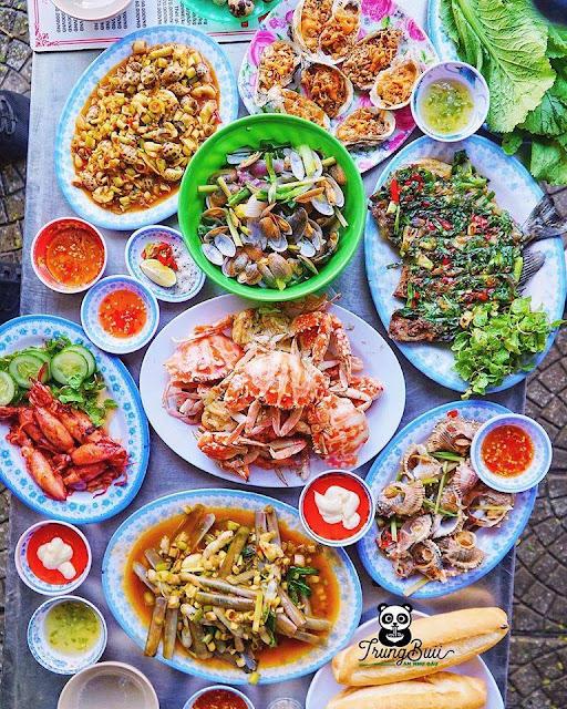Hải Sản Năm Đảnh : K139/H59/38 Trần Quang Khải, Đà Nẵng