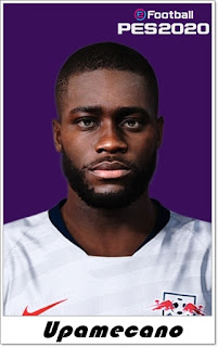 PES 2020 Faces Dayot Upamecano by Shaft