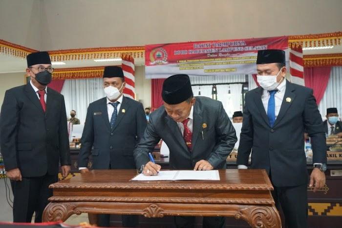 DPRD Lamsel Usulkan Pengangkatan Bupati dan Wakil Bupati Terpilih