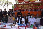 Polrestabes Medan Musnahkan Narkoba Bernilai Rp2 Miliar