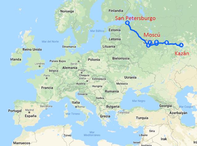 Imagen del mapa de rusia