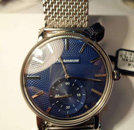 Reloj de la marca náutica Neckmarine, acero inox, 69€