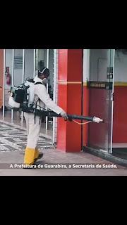 Secretaria de saúde de Guarabira PB realiza ação preventiva contra coronaviros