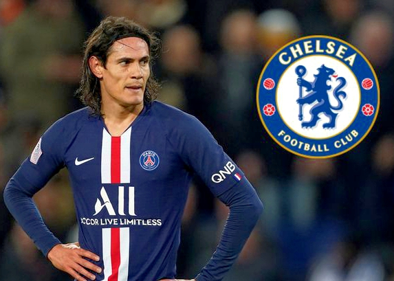 Ligue 1: Cavani On Chelsea's Radar