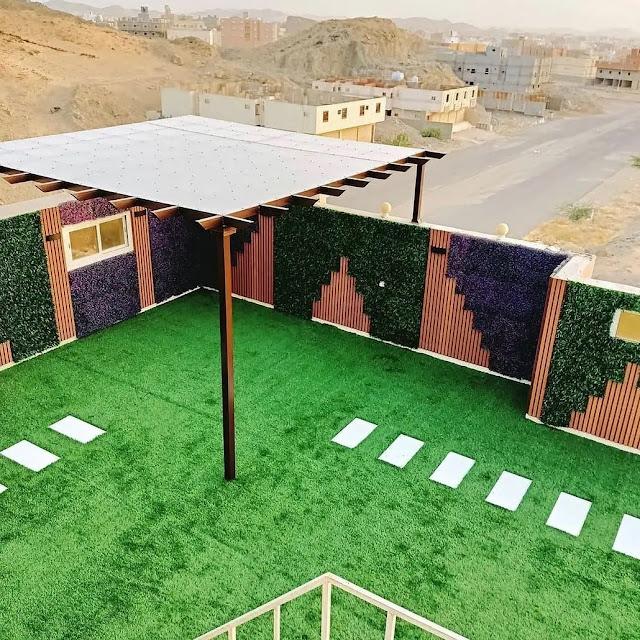 شركة تنسيق حدائق في أحد رفيدة