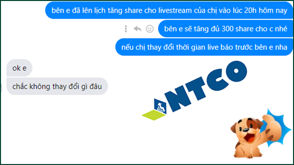 tang chia se livestream