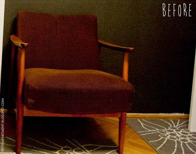mid century modern chair restoration petite apartment. Black Bedroom Furniture Sets. Home Design Ideas