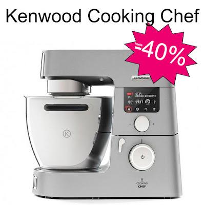 40% de descuento en Robot de cocina Kenwood