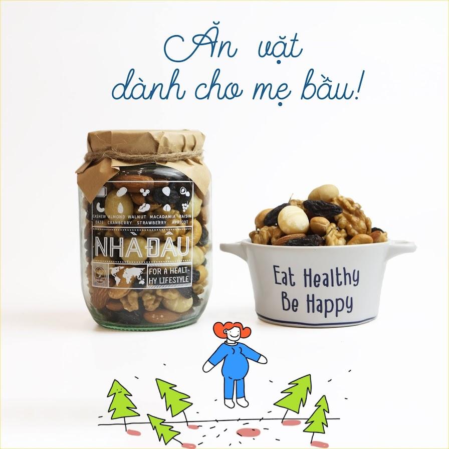 Mix 5 loại hạt dinh dưỡng tốt nhất cho Bà Bầu