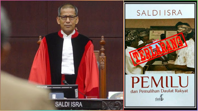 Kembalikan Daulat Rakyat seperti Buku Karangannya, Saldi Isra Diminta Mundur dari Hakim MK