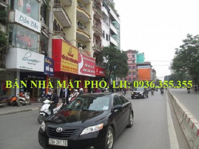 Bán nhà mặt phố Phạm Ngọc Thạch, Chùa Bộc