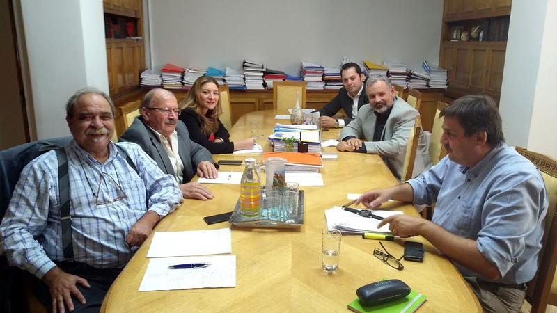 Σύσκεψη στο Υπουργείο Υγείας για τα ζητήματα Υγείας του Νομού Έβρου