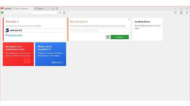 ما هو برنامج AnyDesk الذي يوفر الوصول إلى سطح المكتب البعيد ، وكيفية استخدامه؟