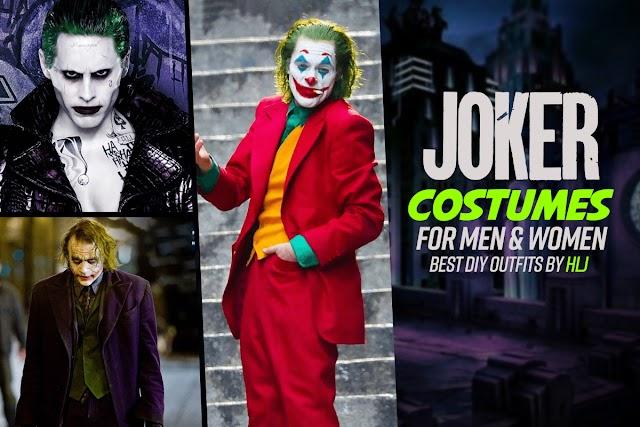 Joker Costumes for Men & Women Best DIY Outfits By HLJ