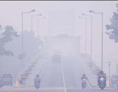 Dampak Kabut Asap Di Kalimantan, 100rb Jiwa Terkena ISPA