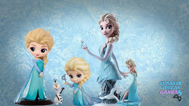 Colección de figuras de Elsa de Frozen