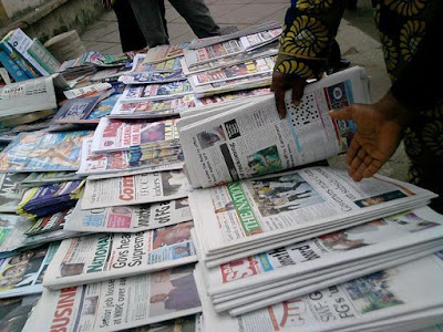 Latest Nigeria Newspapers Headlines