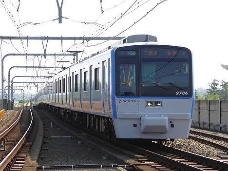相模鉄道 各停 二俣川行き5 9000系(2015.5.31ダイヤ改正で日中廃止)