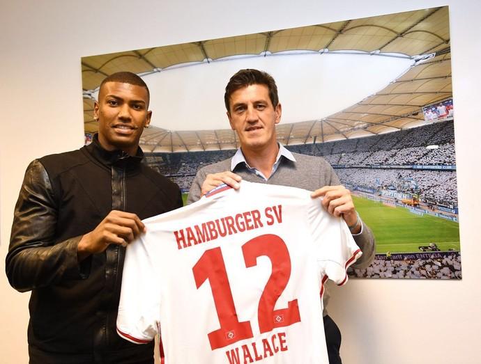 Walace acertou a transferência para a Europa. O volante de 21 anos deixa o  Grêmio e vai para o Hamburgo. O atleta já está na Alemanha 8d24e7a421485