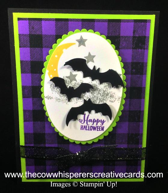 Card, Spooky Sweets, Spooky Bats Punch, Halloween