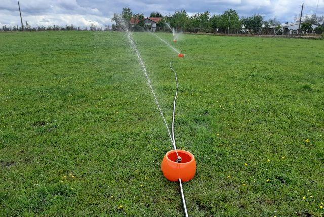 Programación del riego en praderas