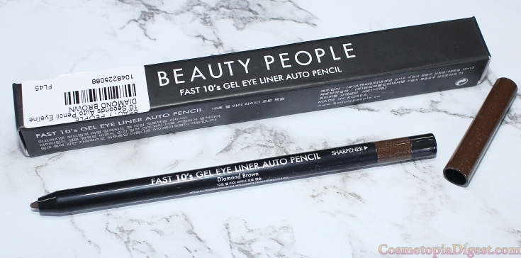 Beauty People 10 Seconds Auto Pencil Eyeliner