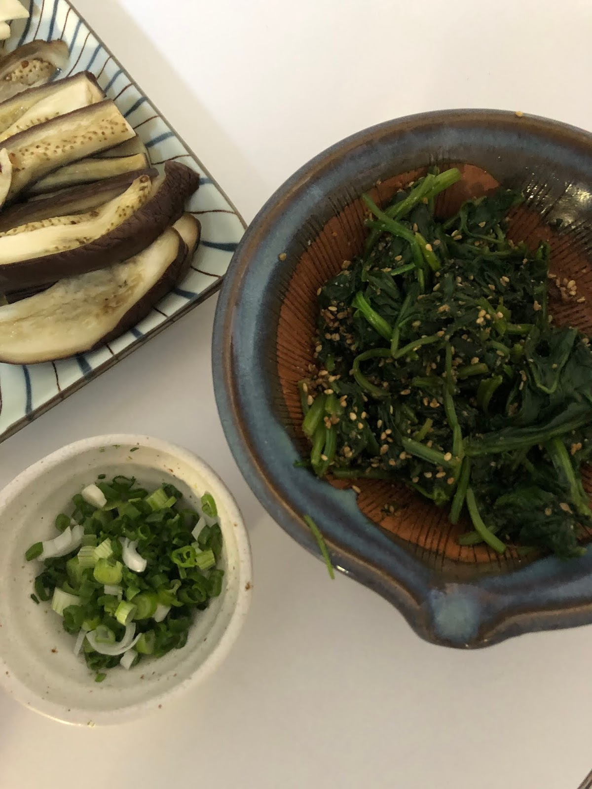 japanese food, cooking, lifestyle blogger, spinach, girl from north london