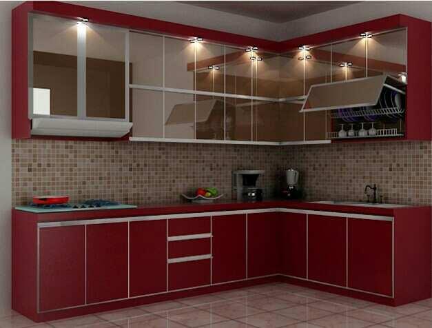 Inilah Model Kitchen Set Aluminium Terbaik 2020 2021
