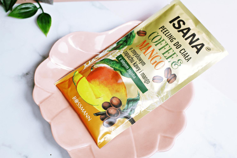 Peeling Isana kawa i mango - peeling do ciała w saszetce