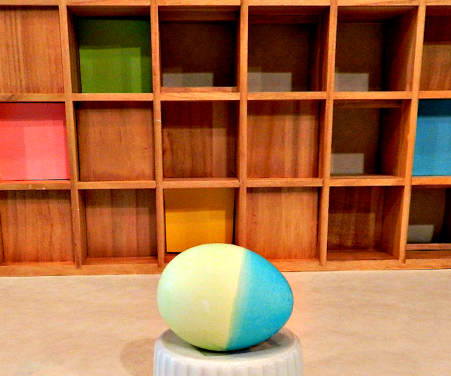 Easter eggs, coloring eggs, colored eggs, double-colored eggs, crafts, kids