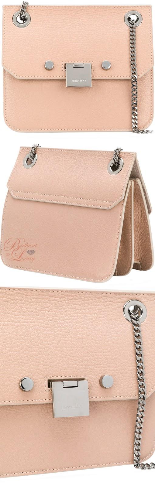 Brilliant Luxury ♦ Jimmy Choo mini Rebel crossbody bag