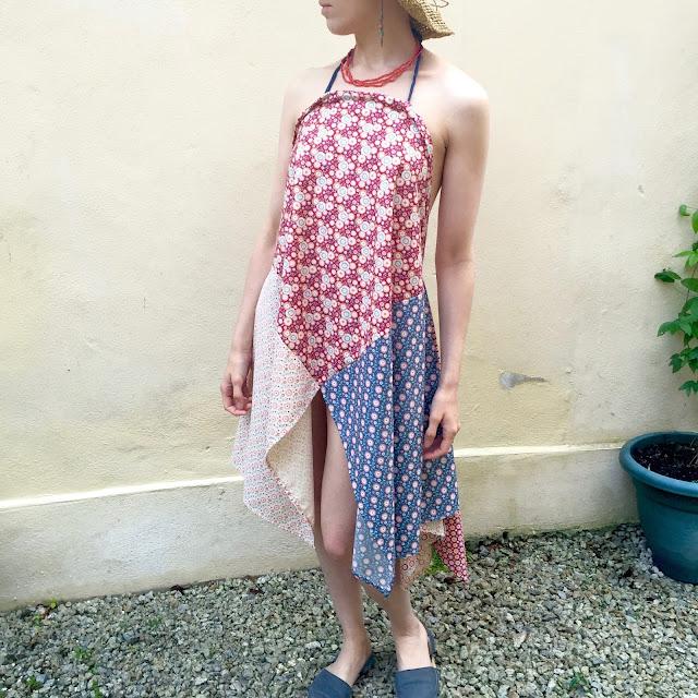 Tilda fat quarter dress