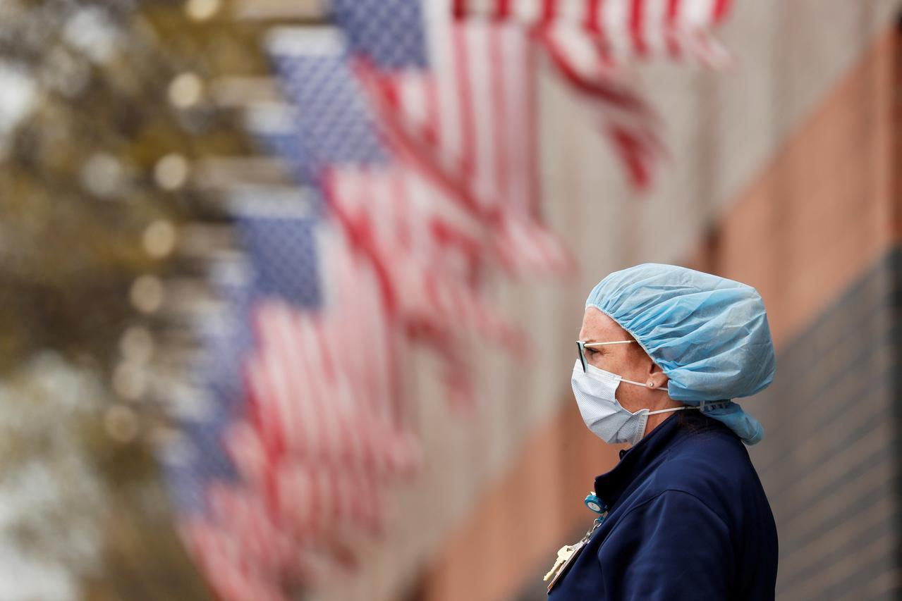 US coronavirus death