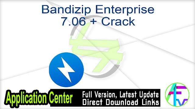 Bandizip Enterprise 7.06 + Crack