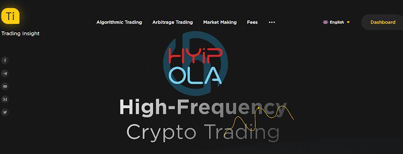 [SCAM] TradingInsight AI Review - Dự án với những gói  lãi dài hạn từ Hong Kong