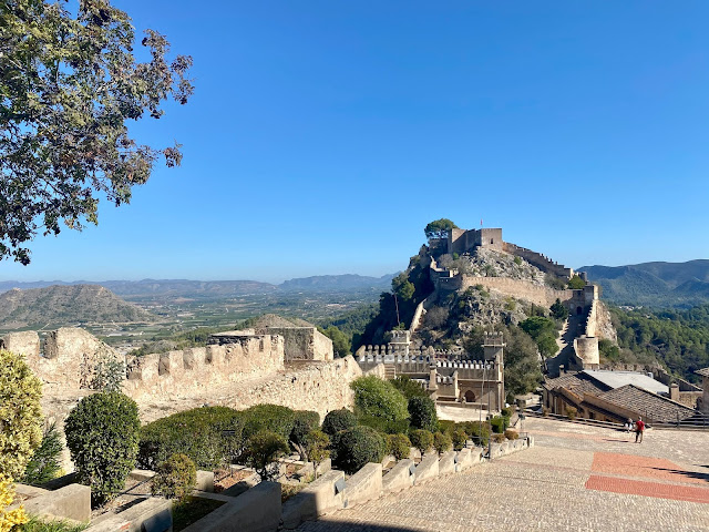 Xativa Castle, Valencia Region, Spain