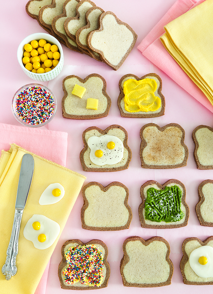Bread Slice Sugar Cookies