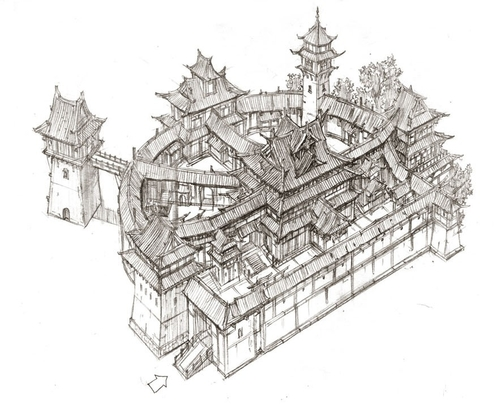 00-Jung-Min-Seub-Architecture-in-Super-Detailed-Fantasy-Drawings-www-designstack-co