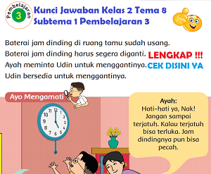 Kunci Jawaban Kelas 2 Tema 8 Subtema 1 Pembelajaran 3 www.simplenews.me