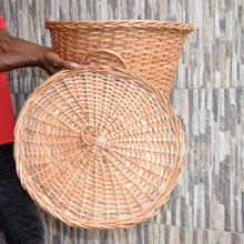 Buy handmade cane storage and organisation baskets in Port Harcourt, Nigeria