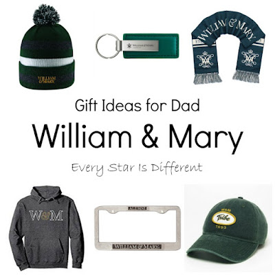 Gift Ideas for Dad-William & Mary