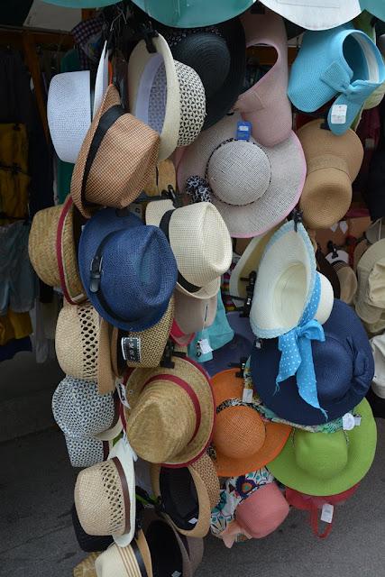 Market Ljubljana hats