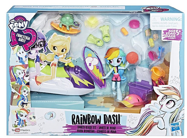 Rainbow Dash Sporty Beach Fashion Equestria Girls Mini
